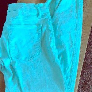 Teal Gap legging Jean